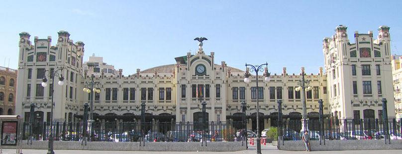 Edificio de la Estacion Norte en Valencia