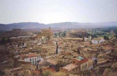 Albalate desde la Moreria