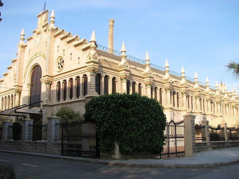 Almacén de los hermanos Pérez Puig, posterior fábrica de algodones en Alcira