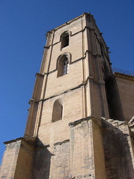 Torre gótica de Santa María. Alcañiz