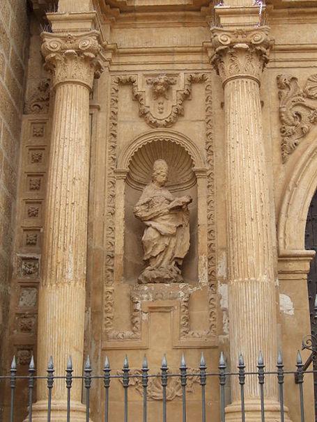 Calamocha - Iglesia de Santa María la Mayor - Fachada