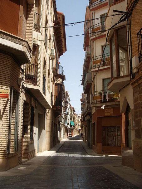 Calle Mayor de Calanda