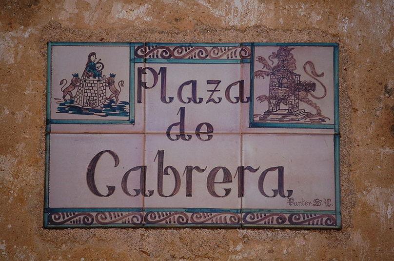 Plaza de Cabrera. Cantavieja