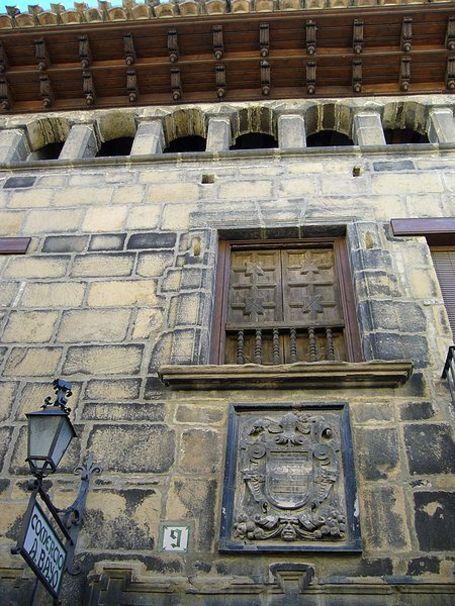 Fachada de  Rubielos de Mora