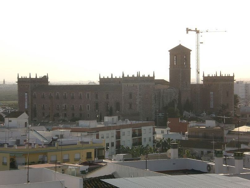 Vista de el Real Monasterio del Puig