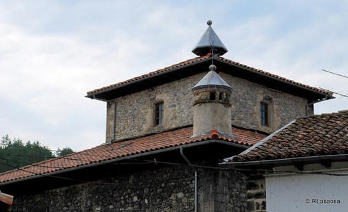 """Tejado de """"Casa el Ministro"""" o """"Casa Sanz Orrio"""", casa señorial de la segunda mitad del siglo XVIII."""