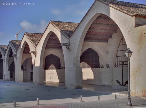 Vista de las Atarazas de Valencia