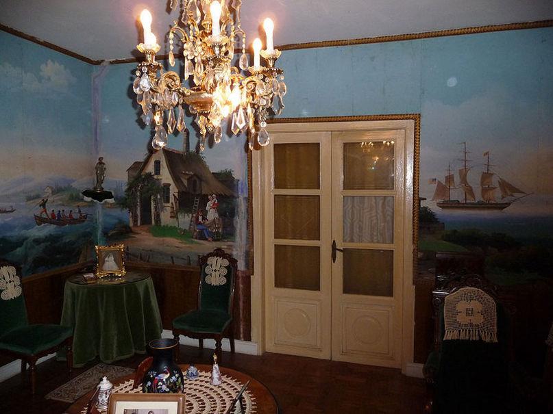 Interior de casa de la calle Fernando Torres, 26 de San Asensio, La Rioja