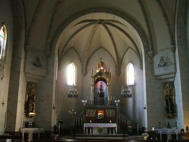 San Asensio-Mº de la Estrella  Cabecera de la iglesia del Monasterio de Santa María de la Es