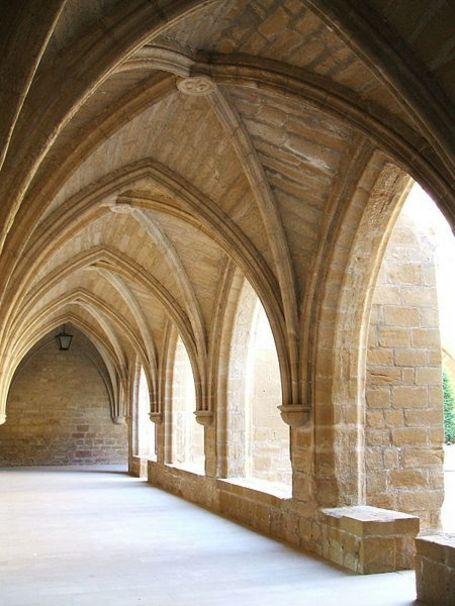 Claustro del Monasterio de Santa María de la Estrella, San Asensio, La Rioja