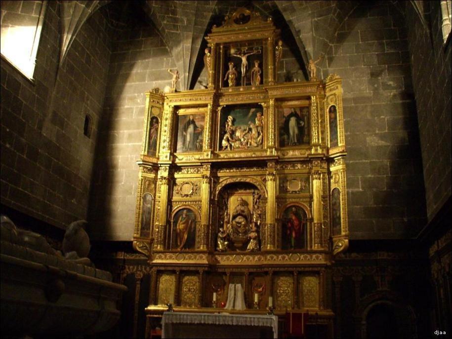 Rtablo mayor del Convento de Santo Domingo de Valencia