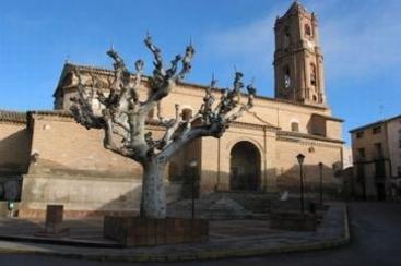 Almunia de San Juan, Parroquial de San Pedro