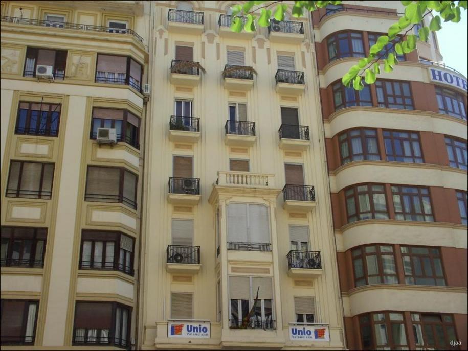 Estilos de las fachadas de Valencia