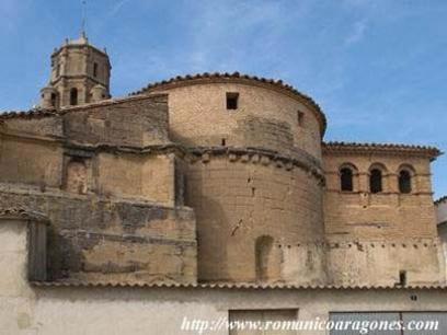 Iglesia de la Purificacion de Angües abside romanico