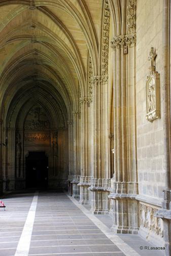 Fotografía tomada en la Catedral de Pamplona, Navarra, España