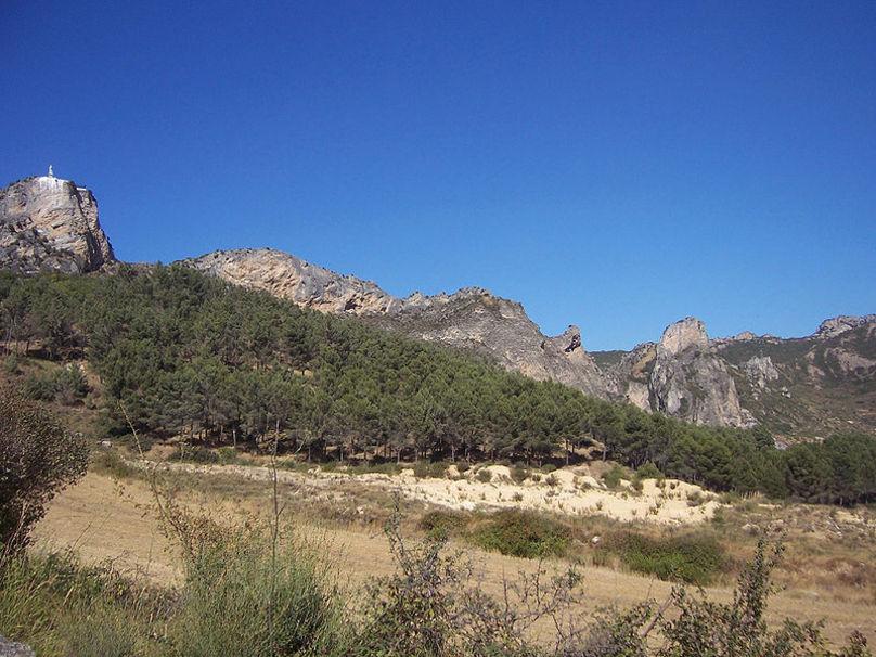 Paraje de los Riscos de Bilibio en Haro, La Rioja