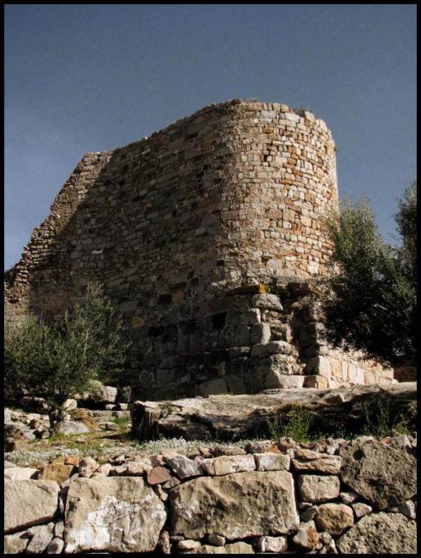 Restos de la fortaleza de Sagunto