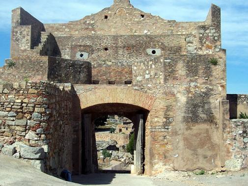 Puerta de Almenara en Sagunto