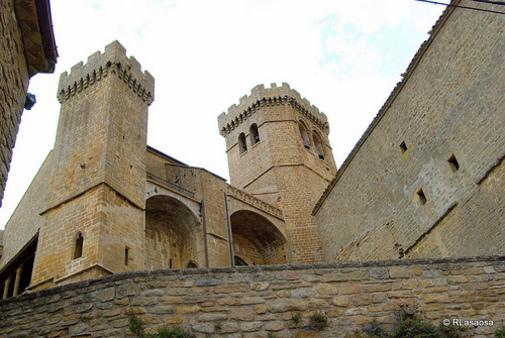 Iglesia de Santa María Ujue, Navarra España