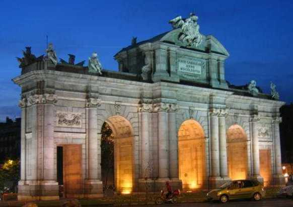 La Puerta de Alcalá., Madrid