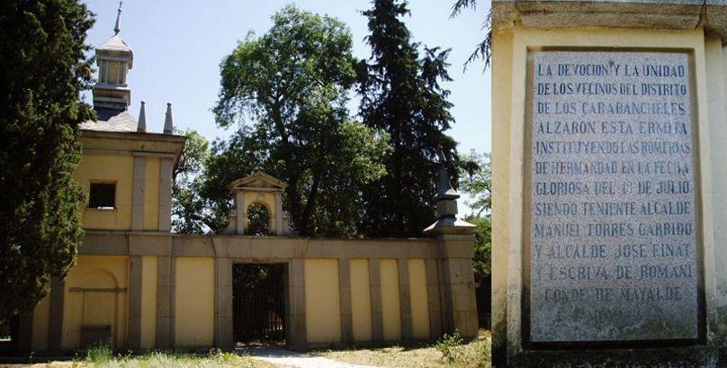 Ermita de San Pedro. Casa de Campo