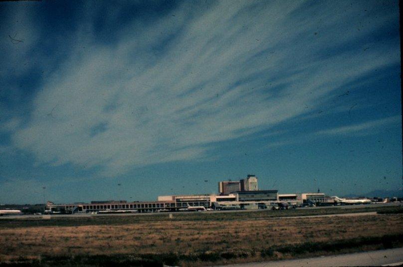 Exterior de el Aeropuerto de Barajas