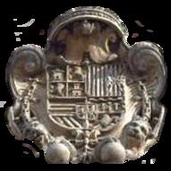 Escudo de la Casa de la Panadería de la Plaza Mayor, Madrid.