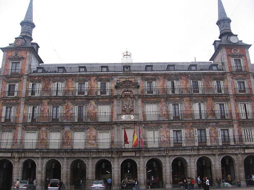 Edificios de la Plaza Mayor