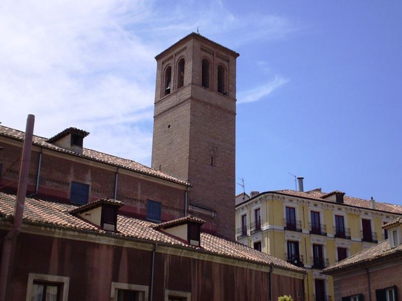 Vista lateral de la Iglesia de San Pedro el Viejo. Madrid