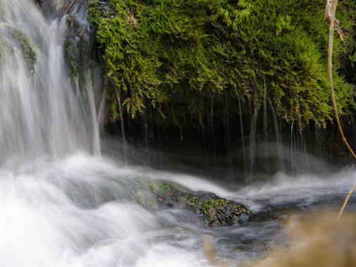 Nacimiento del río Pitarque..