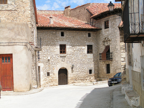 Fortanete: Casa de los duques Medinacelli