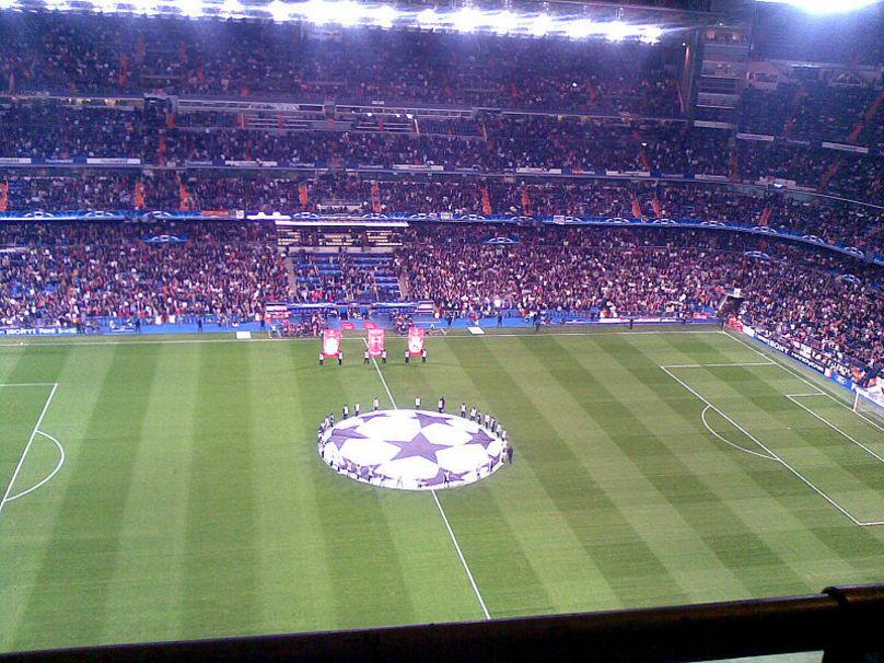 Estadio Santiago Bernabéu UEFA Champions League