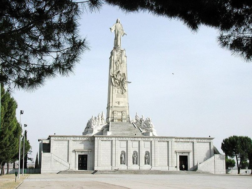 Monumento al Sagrado Corazón.