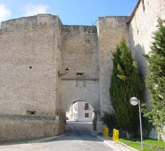 Cuellar Arco de san Martín