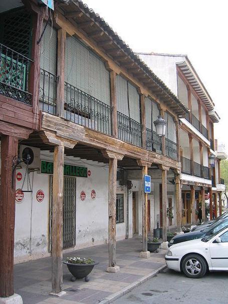 Detalle de los edificios de Ciempozuelos