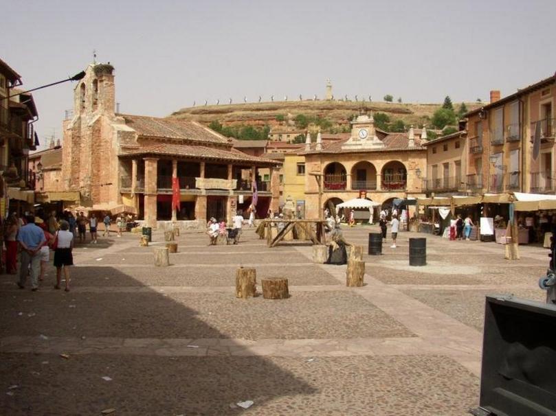 Ayllón Plaza mayor