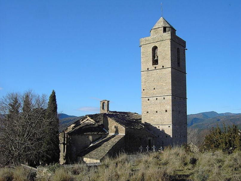 La iglesia de Guaso