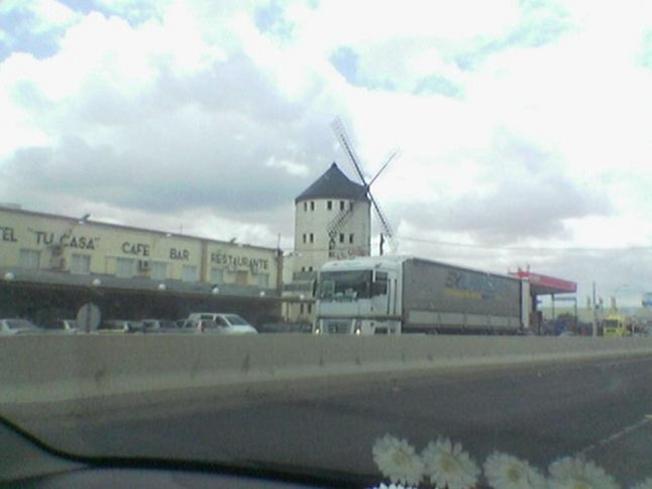 Molino en la autovia de Toledo