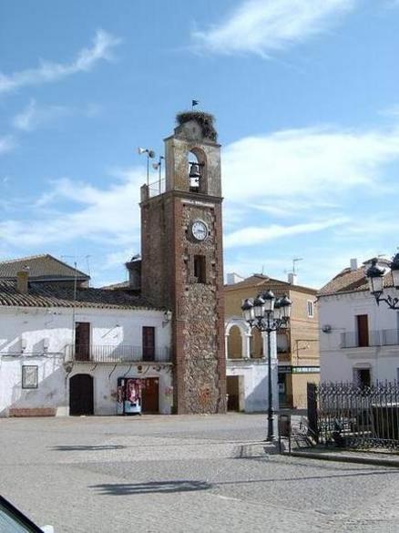 Torre del Reloj 1953. Siruela