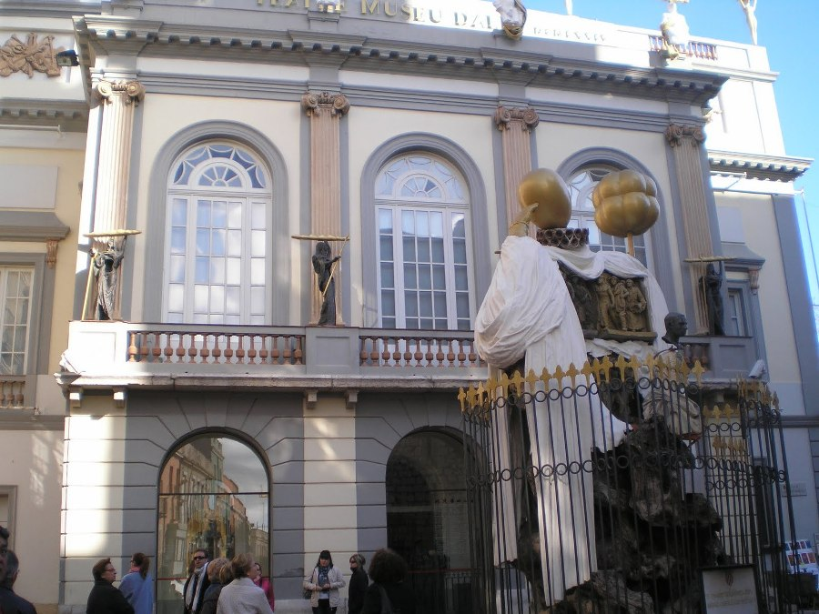 Francesc Pujols por Dali