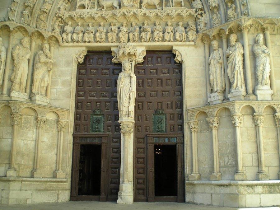 Puerta de Sarmental o Sacramental de Burgos