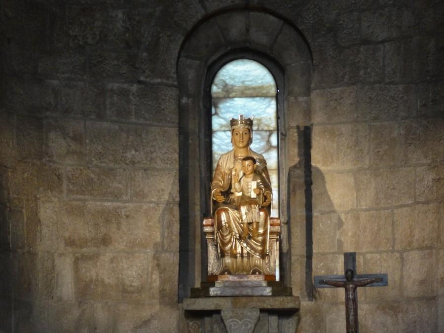 Virgen Gotica de Javier en Navarra