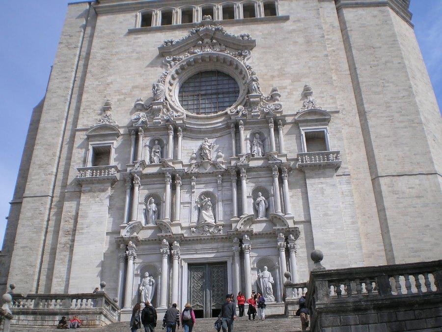 Descripcion fachada Catedral Girona