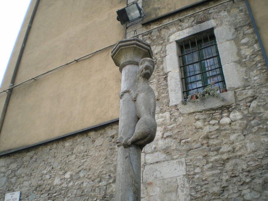 Simbologia de la Leona de Girona
