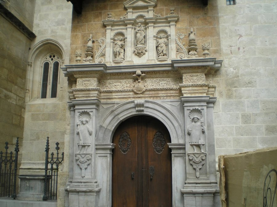 Fachada Capilla Real de Granada