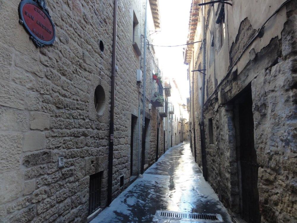 Un paseo por las calles de Laguardia