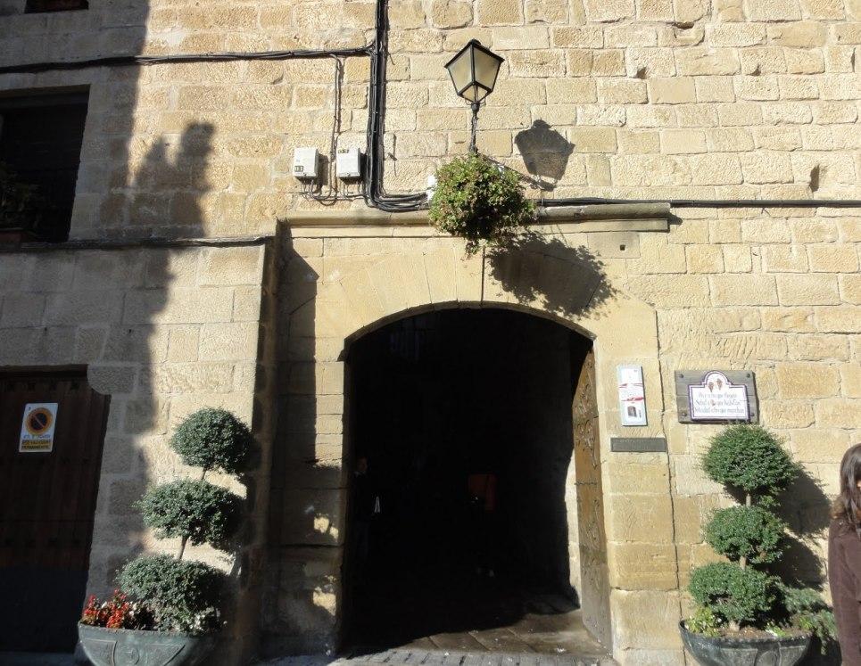 Puerta de la Villa de Laguardia