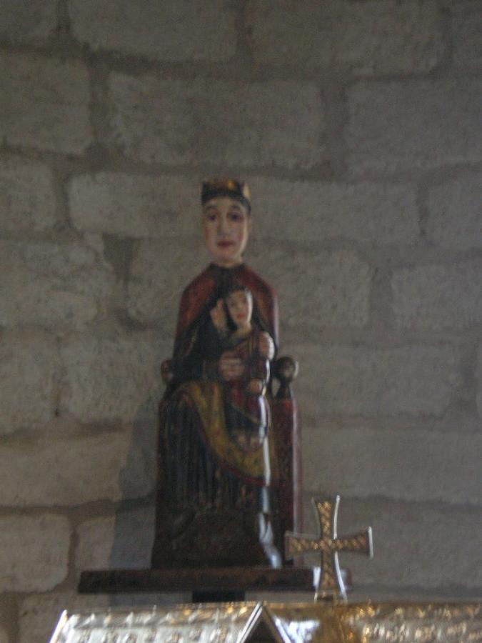 Talla Virgen en Salardú