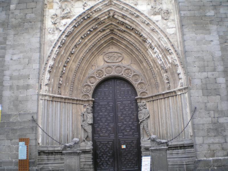 Puerta Gotica Catedral de Avila