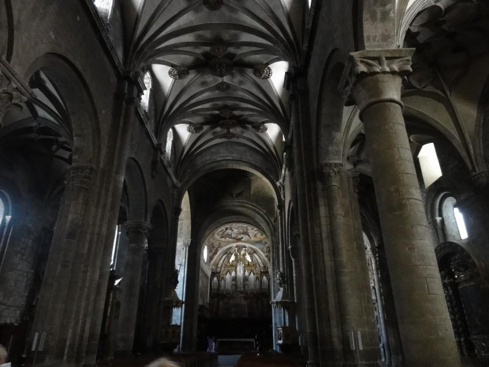 Interior de la Catedral de Jaca